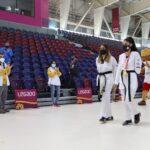 Yvonne de la cruz, la entrenadora de nuestra medallista paralímpica, Angélica Espinoza